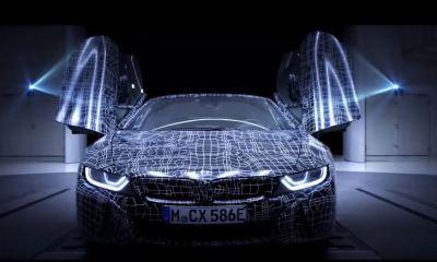 BMW i8 Roadster Teaser Video