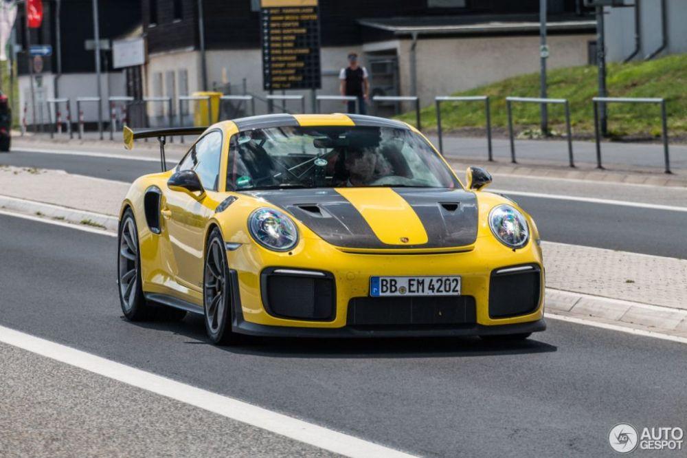 Porsche 911 GT2 RS-Racing Yellow-Nurburg-1