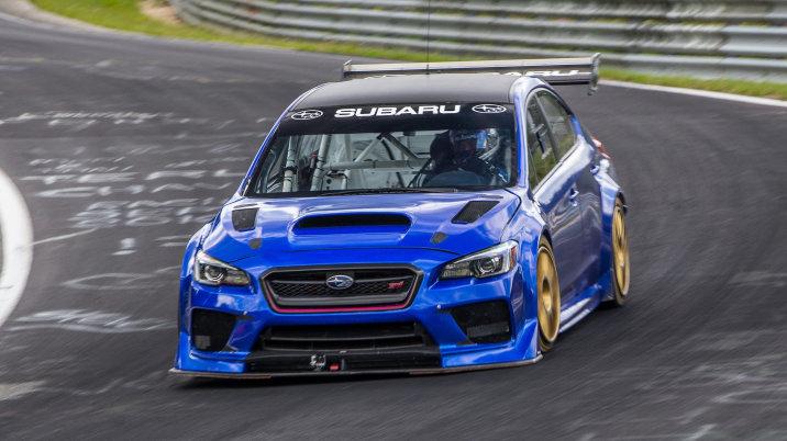 Subaru WRX STI Type RA NBR Special-Nurburgring lap record-2