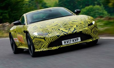 2018 Aston Martin V8 Vantage-prototype-1