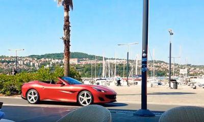 Ferrari Portofino-spotted-Slovenia