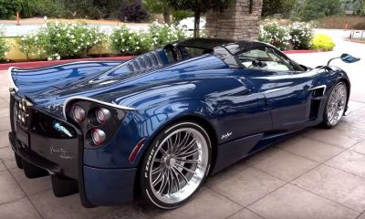 US-Spec-Pagani Huayra Roadster-Car Week