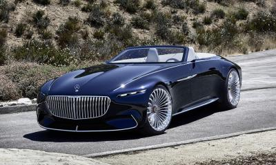 Vision Mercedes-Maybach 6 Cabriolet-Concept-Pebble Beach-2