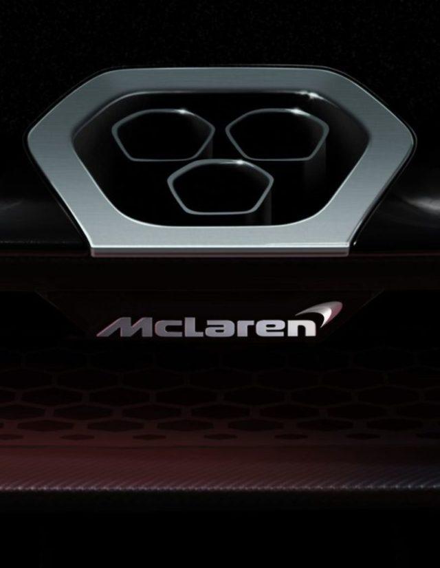 McLaren P15 official teaser