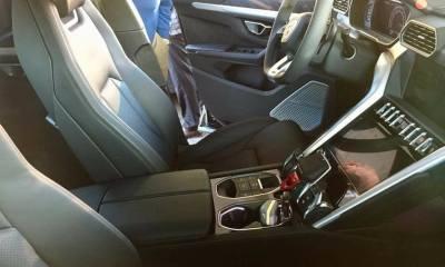 Lamborghini Urus-interior-spy shots-4