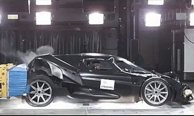 Koenigsegg Regera crash test