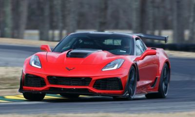 2019 Chevrolet Corvette ZR1-VIR Lap Record-Ford GT