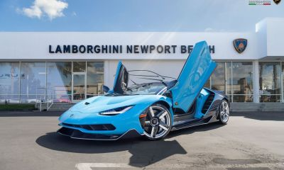 Blue-Cepheus-Lamborghini Centenario Roadster-Newport Beach-1