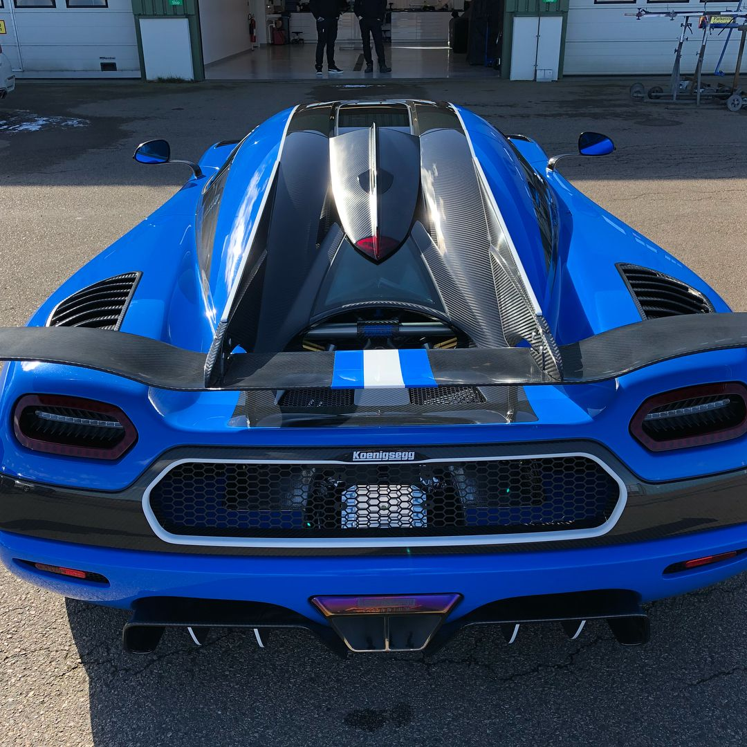 Koenigsegg Agera Rs White: One-off Koenigsegg Agera RSN Is The Last Of The Breed