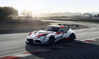 Toyota Gazoo Racing Supra Concept-2018 Geneva Motor Show-1