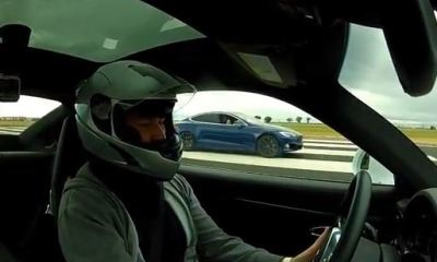 Tesla-Model-S-Porsche-911