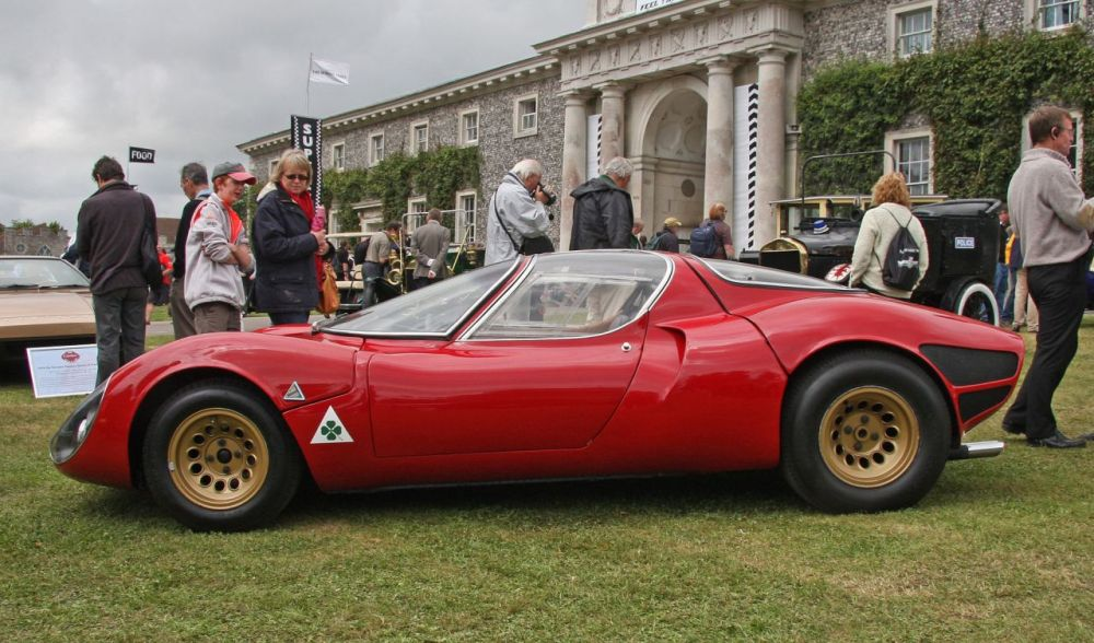 Alfa Romeo Tipo 33 Stradale Is This The Most Beautiful