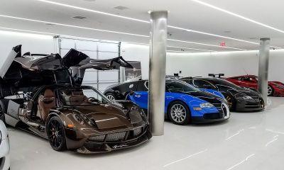 Manny Khoshbin-supercar collection