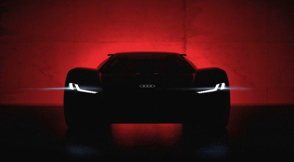 Audi PB18 e-tron-2018-Pebble Beach