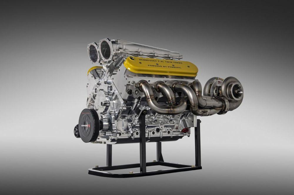 Hennessey Venom F5 engine 1