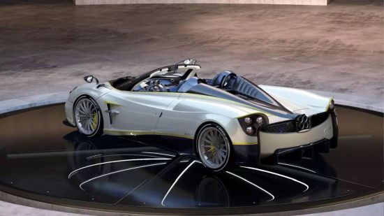 Pagani Huayra Roadster Gyrfalcon Pebble Beach 4 1