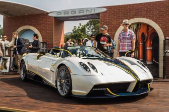Pagani Huayra Roadster Gyrfalcon Pebble Beach 4