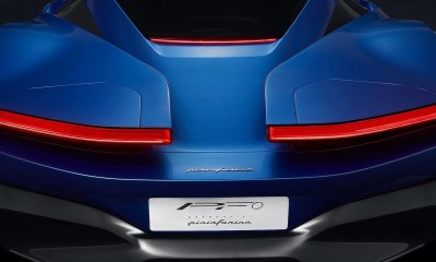 Pininfarina PF0 Electric Hypercar Teaser Rear