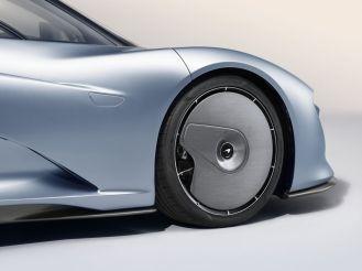 2019 McLaren Speedtail front wheel aero cover