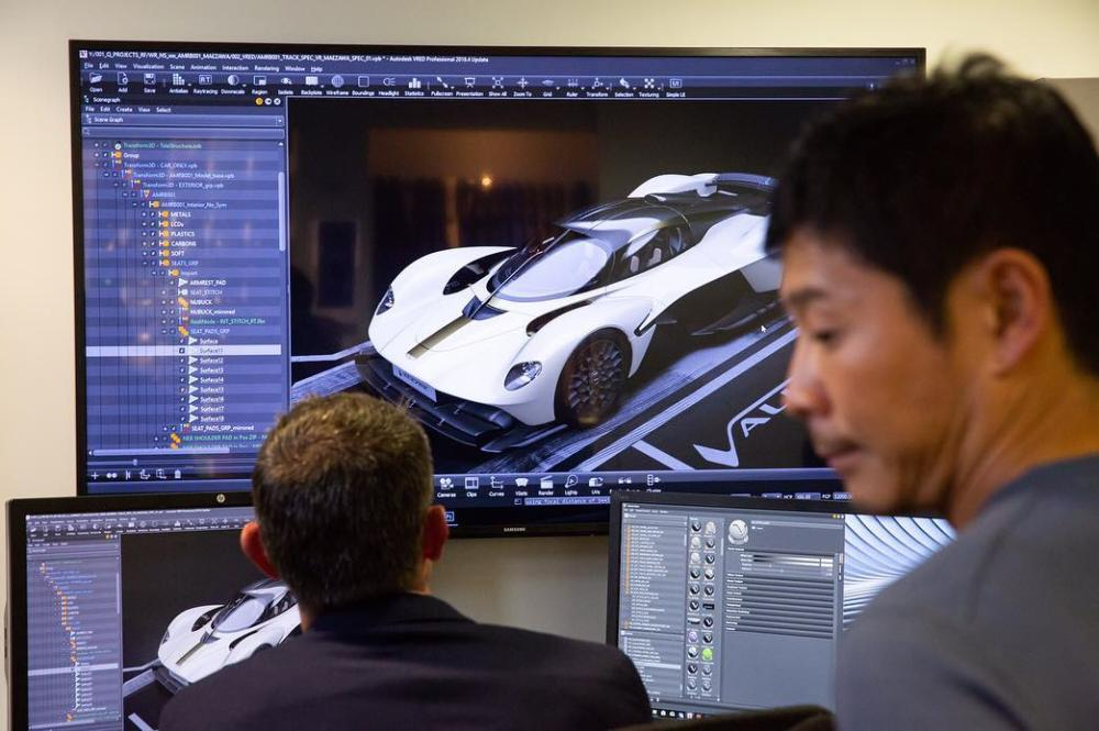 Aston Martin Valkyrie production spec leaked