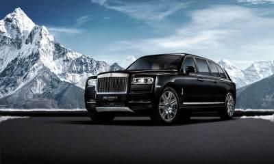 Klassen Rolls Royce Cullinan Stretched