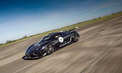 Koenigsegg One 1 Agera RS Vmax200 record 07