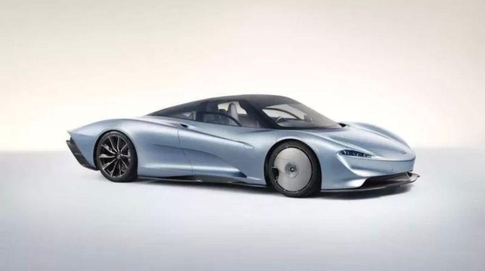 McLaren Speedtail leaked 1