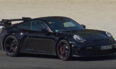 Porsche 911 GT3 992 Monza spy shots