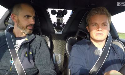 Nico Rosberg-Porsche 918 Spyder-Fully Charged