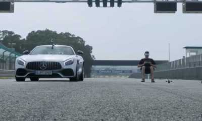 mercedes-amg-gt-vs-drone