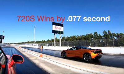 McLaren 720S versus Dodge Demon-Dragtimes