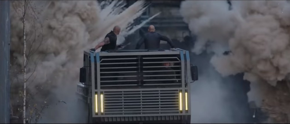 Fast and Furious Presents Hobbs and Shaw Action