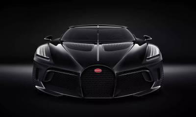Bugatti La Voiture Noire-2019 Geneva Motor Show-2