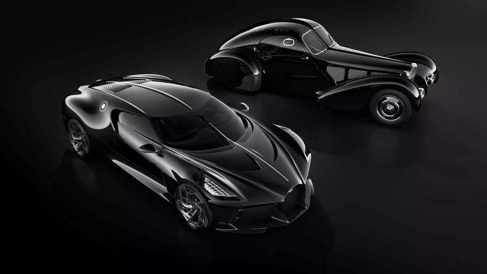 Bugatti La Voiture Noire-2019 Geneva Motor Show-8