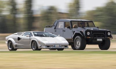 Lamborghini LM002 Rambo Lambo Truck