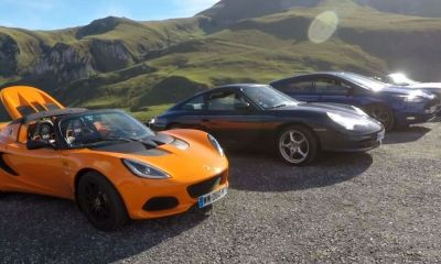 Pyrenees drive-sports cars