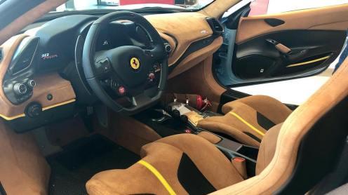 Baby Blue Ferrari 488 Pista-San Diego-3