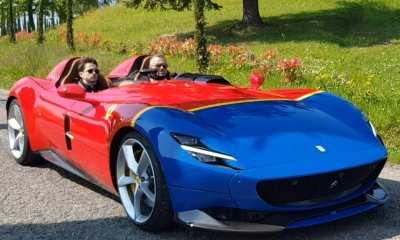Charles Leclerc-Ferrari Monza SP2