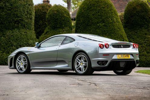 Ferrari F430-Manual-gated-shifter-Gordon Ramsay-auction-for-sale-3