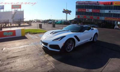 Hennessey Chevrolet Corvette ZR1 HPE1000-quarter mile record