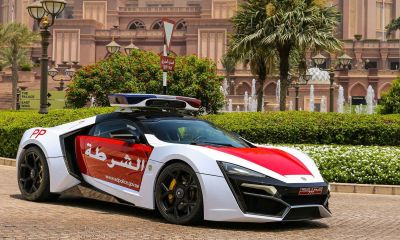 Lykan Hypersport-Abu Dhabi Police Car