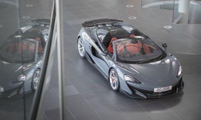 McLaren 600LT Spider-Chicane Grey-20000th car-1