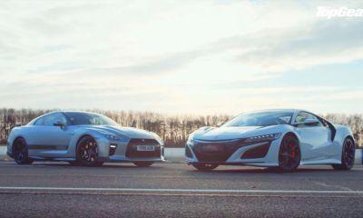 Nissan GT-R-Acura NSX-Top Gear-drag race