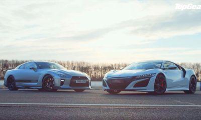 Nissan GT-R-Acura NSX-Top Gear-drag race