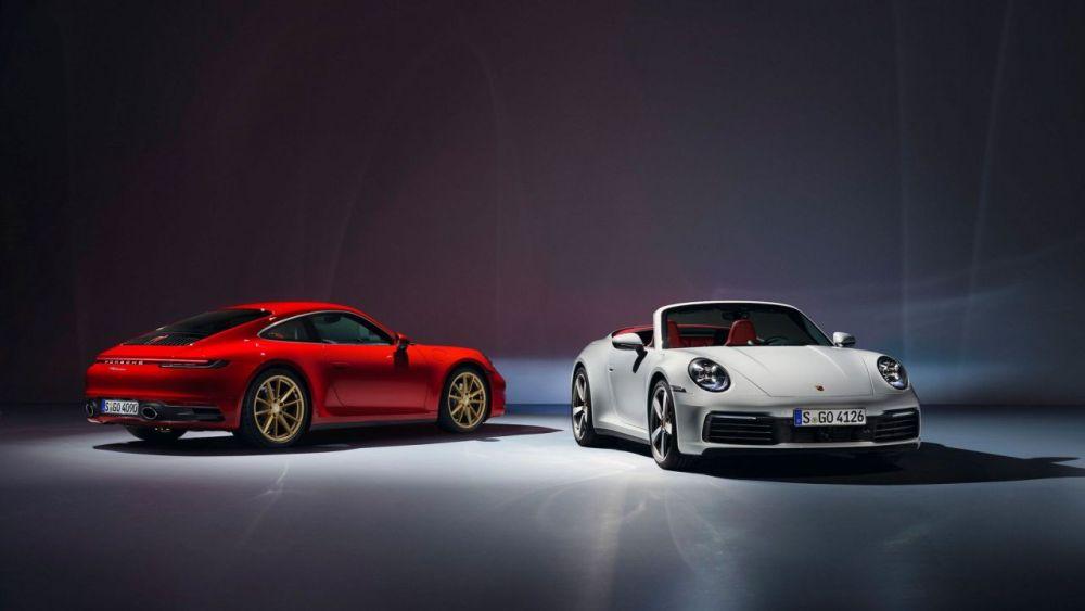 2019 Porsche 911 Carrera-Coupe-Cabriolet-1