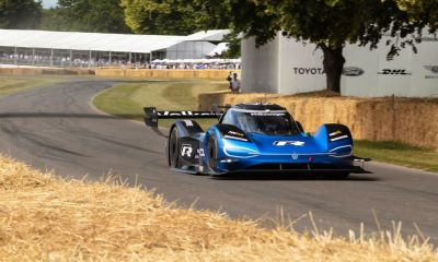 Volkswagen ID.R-electric car-Goodwood-record