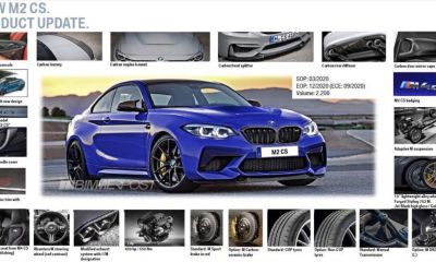 BMW M2 CS-specs-price-leaked