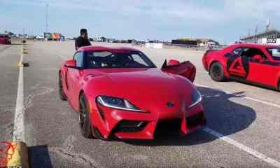 Toyota Supra vs Dodge Demon