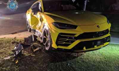 Yellow-Lamborghini-Urus-Crash-Perth-Australia-1