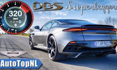 Aston Martin DBS Superleggera-Autobahn-Top Speed